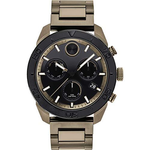 Movado Bold Quartz Movement Black Dial Men's Watch 3600513