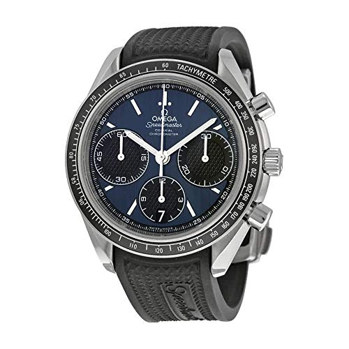Omega Speedmaster Racing Automatic Chronograph Blue Dial Stainless Steel