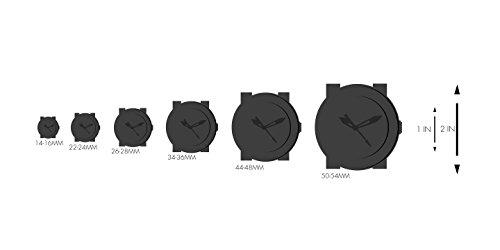 Christian Dior Women's Christal Black Diamond Dial Watch