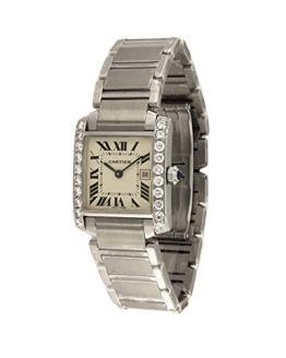 Cartier Tank Francaise Swiss-Quartz Female Watch