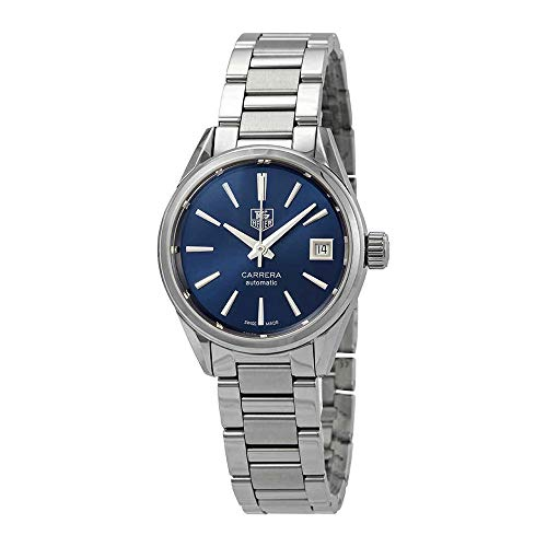 Tag Heuer Carrera Calibre 9 Automatic Blue Dial Ladies Watch