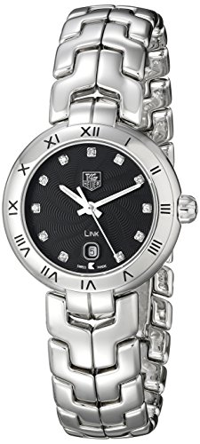 TAG Heuer Women's Link Analog Display Quartz Silver Watch