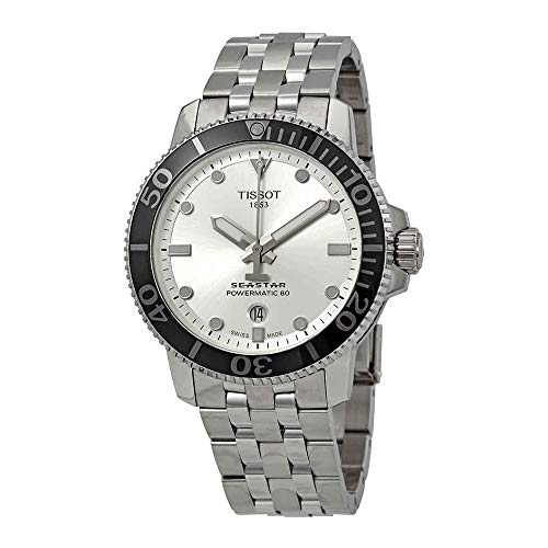 Tissot Seastar Automatic Silver Dial Mens Watch