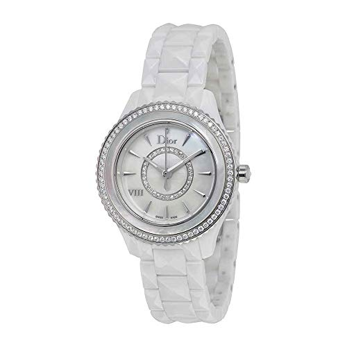 Dior Dior VIII Mother of Pearl Dial Ceramic Ladies Watch