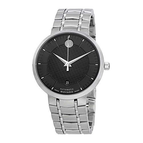 Movado Automatic Black Dial Mens Watch