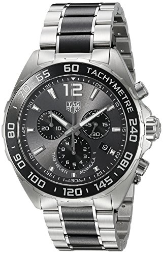 TAG Heuer Men's 'Formula 1' Swiss Quartz Stainless Steel Dress Watch