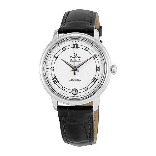 Omega Prestige Automatic Diamond Silver Dial Ladies Watch 424.13.33.20.52.002