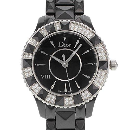 Christian Dior Women's Black Eight Analog Display Swiss Quartz Black Watch Christian Dior Women's CD1231E1C001 Black Eight Analog Display Swiss Quartz Black Watch.