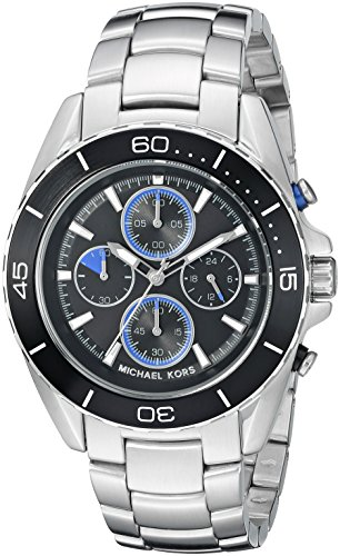 Michael Kors Men's Jetmaster Black Watch