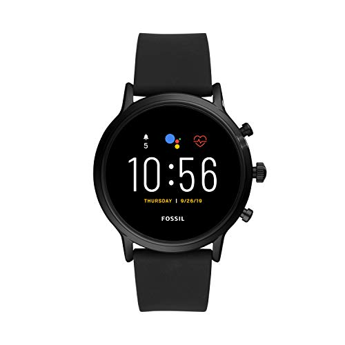 Fossil Gen 5 Carlyle HR Heart Rate Stainless Steel and Silicone Touchscreen