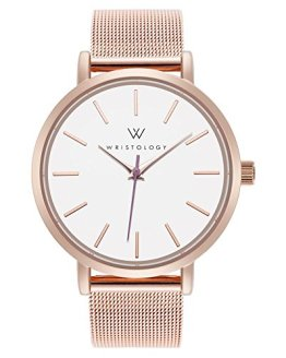 WRISTOLOGY Olivia - 2 Options - Womens Watch Lines Rose Gold Boyfriend Ladies