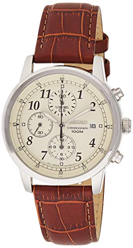 Seiko Men's Classic Stainless Steel Chronograph Watch