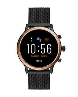 Fossil Gen 5 Julianna HR Heart Rate Stainless Steel Mesh Touchscreen Smartwatch