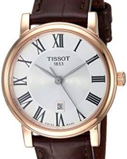 Tissot Womens Carson Swiss Quartz Stainless Steel Dress Watch