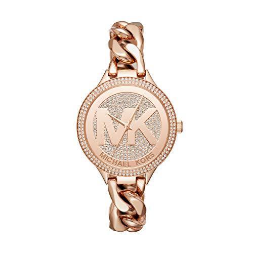 Michael Kors Women'sRose Gold-Tone Watch
