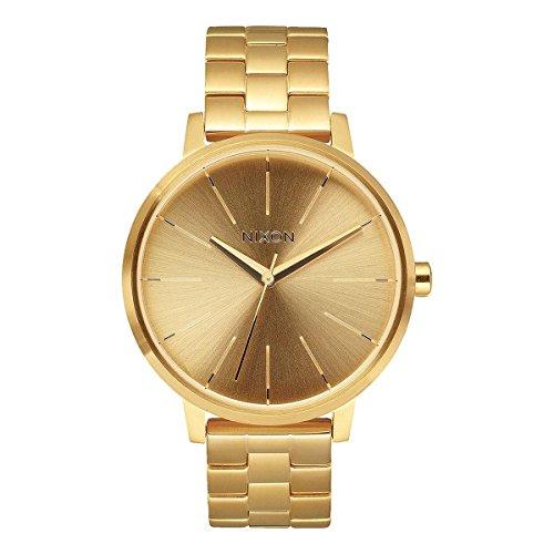 NIXON Women's Quartz Watch with Stainless Steel Strap, Gold