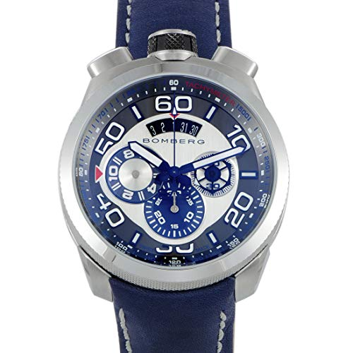 BOMBERG Stainless Steel Swiss Quartz Pocket Watch