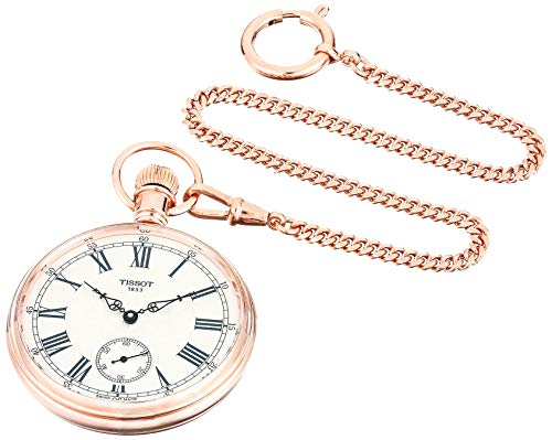 Tissot Unisex Lepine Mechanical Brass Pocket Watch
