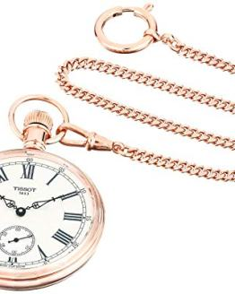 Tissot Unisex Lepine Mechanical Brass Pocket Watch