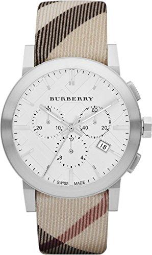 Burberry Unisex Men Women Watch The City Swiss Luxury Round Stainless Steel