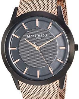 Kenneth Cole New York Men's Slim Watch Japanese-Quartz Stainless-Steel Strap