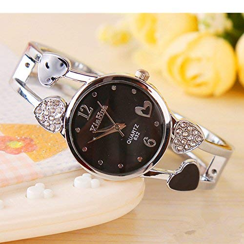 ELEOPTION Women Bangle Watch Bracelet Design Quartz Watch