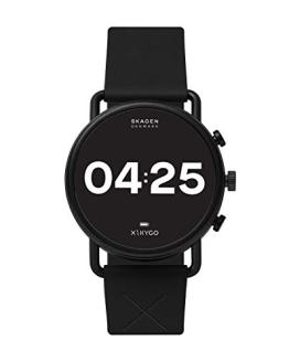Skagen Connected Falster 3 Stainless Steel and Silicone Touchscreen Smartwatch