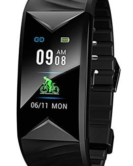 Fitness Tracker Step Counter Calorie Counter Distance Heart Rate Monitor