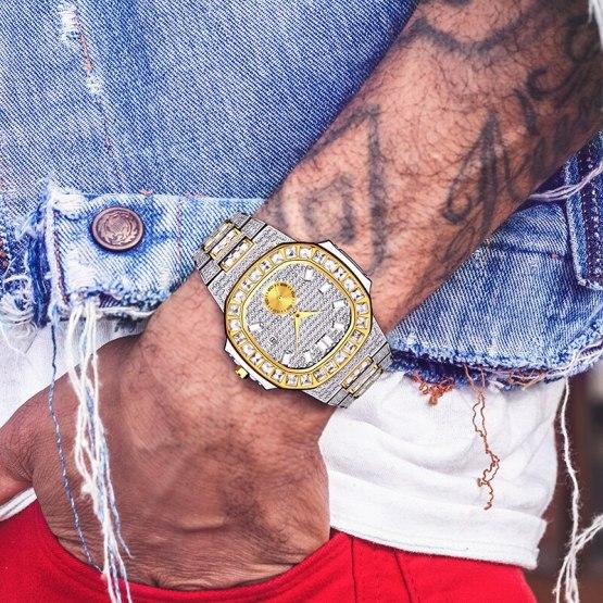 MISSFOX Classic Quartz Watch Men Luxury Brand Waterproof
