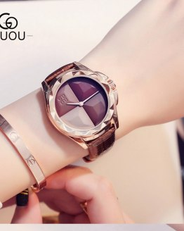 Women Watches Leather Quartz Ladies Watch Waterproof