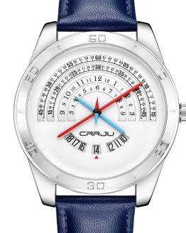 3Bar Waterproof Leather Watchband