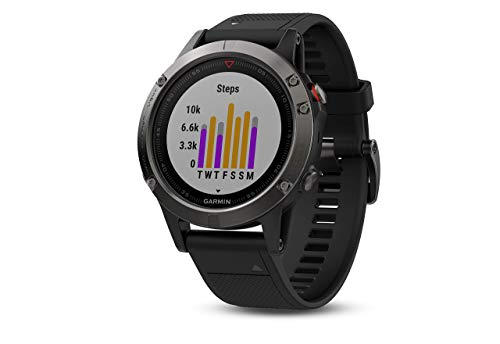 Garmin fēnix 5, Premium and Rugged Multisport GPS Smartwatch