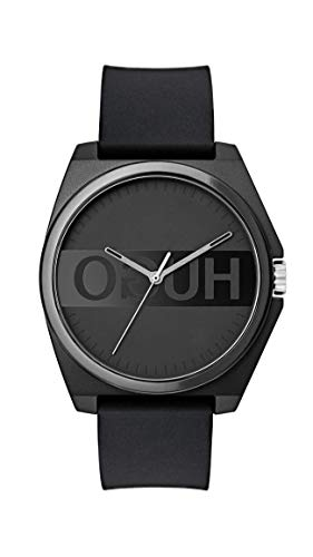 HUGO by Hugo Boss Quartz Watch with Silicone Strap
