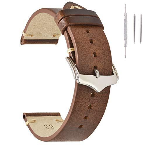 intage Watch Straps Light Brown For Women
