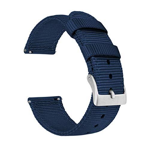 Two-Piece NATO Style Ballistic Nylon Watch Straps