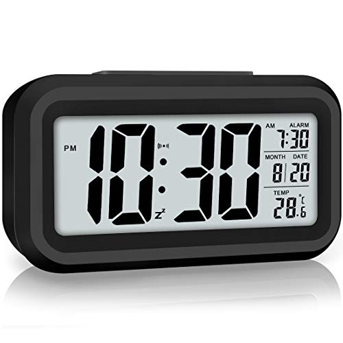 Night Light Led Display Digital Alarm Clock