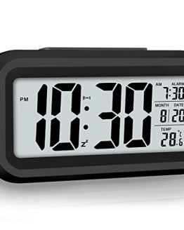 Night Light Led Display Digital Alarm Clock