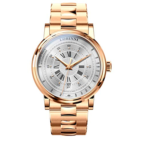 Men Wrist Watch,Mens Automatic Watches LOBINNI