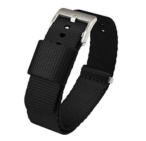 Jetson NATO Style Watch Strap 22mm Black