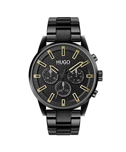 HUGO by Hugo Boss Men's #Seek Stainless Steel Quartz Watch