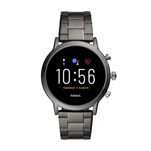 Fossil Unisex 44MM Gen 5 Carlyle HR Heart Rate Stainless Steel
