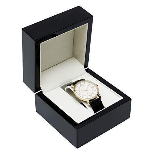 Noble Black Piano Wood Watch Jewelry Box