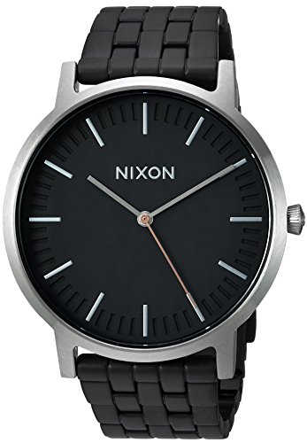Nixon Men's The Porter X The Brush Steel Collection