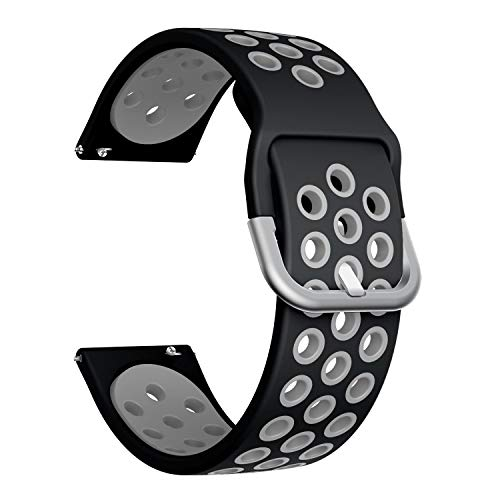 20mm Silicone Quick Release Watch Band