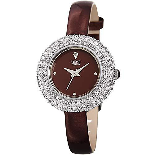 Swarovski Crystal & Diamond Accented Watch Burgi
