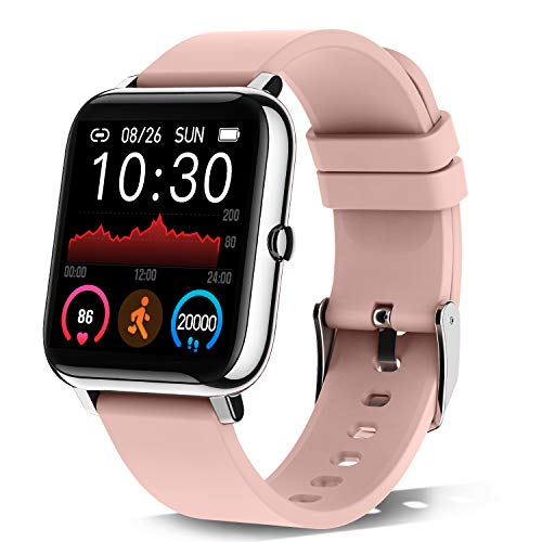 Smartwatch with Heart Rate and Sleep Monitor Fitness Tracker for Women