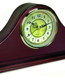Mahogany Mantel Concealment Gun Clock