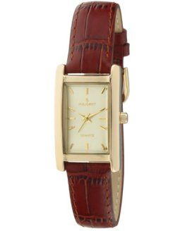 14Kt Gold Plated Watch Rectangular Tank Shape Case