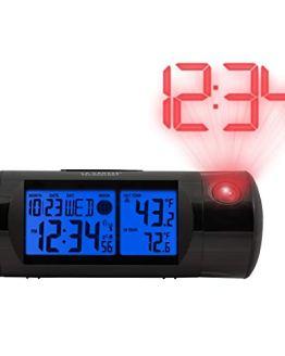 La Crosse Technology Projection Alarm Clock with Backlight