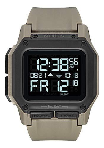 Nixon Unisex Adult Digital Watch with Polycarbonate Strap